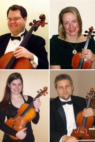 The Players of the Orca String Quartet