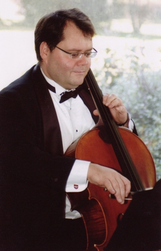 Cellist and Orca String Quartet Founder, Robin Copas